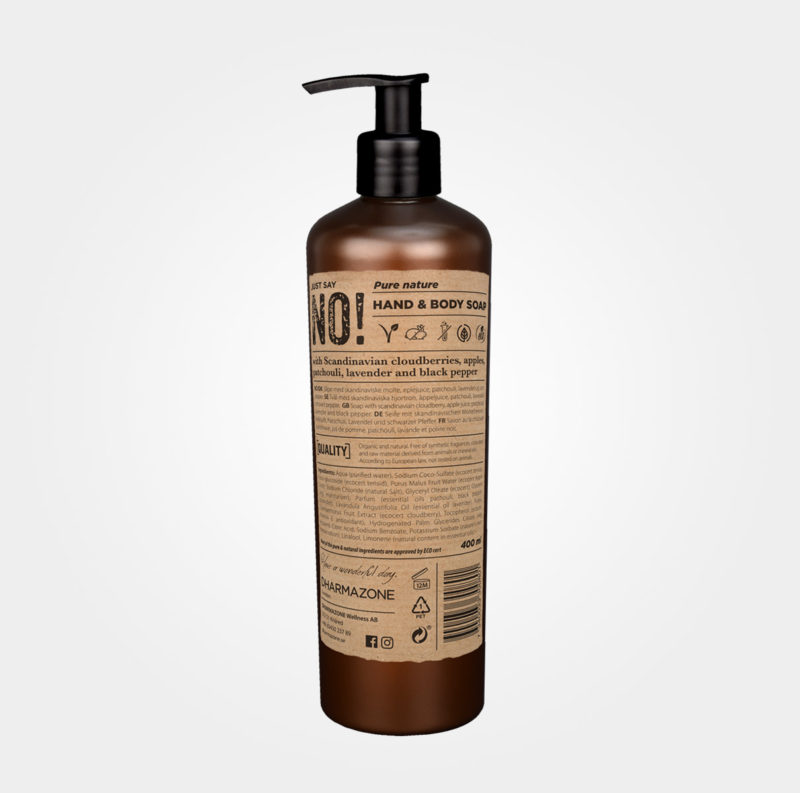 Just say no – Pure Nature Hand & Body Soap från Dharmazone