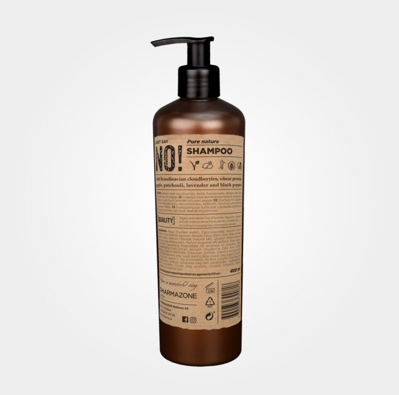 Just say no – Pure Nature Shampoo från Dharmazone
