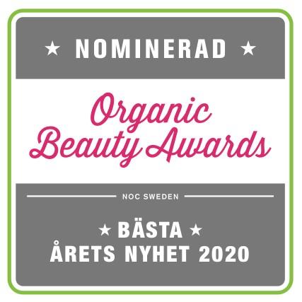 Årets bästa nyhet organic Beauty Awards