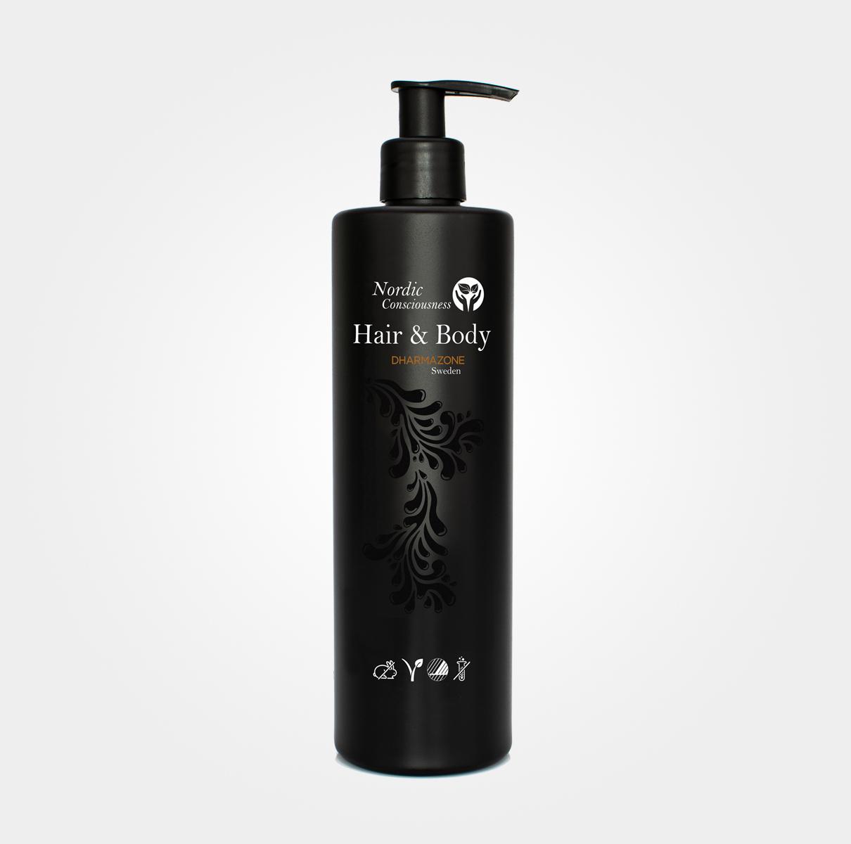 Nordic Consciousness Hair & Body Wash 400 ml