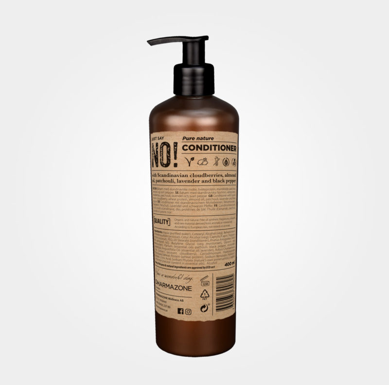 Just say no – Pure Nature Conditioner från Dharmazone