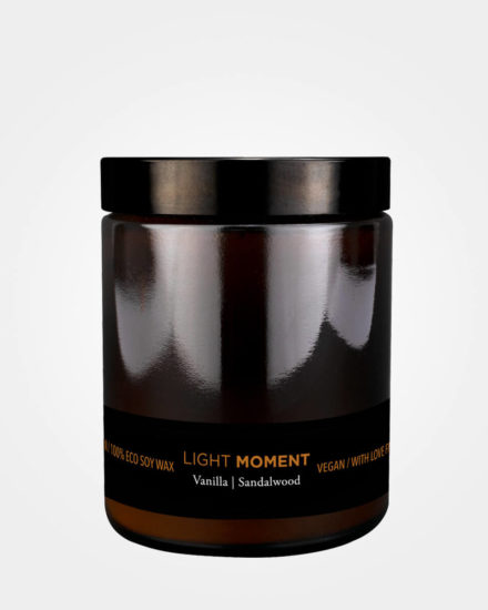 Candle Light Moment Vanilla Sandalwood